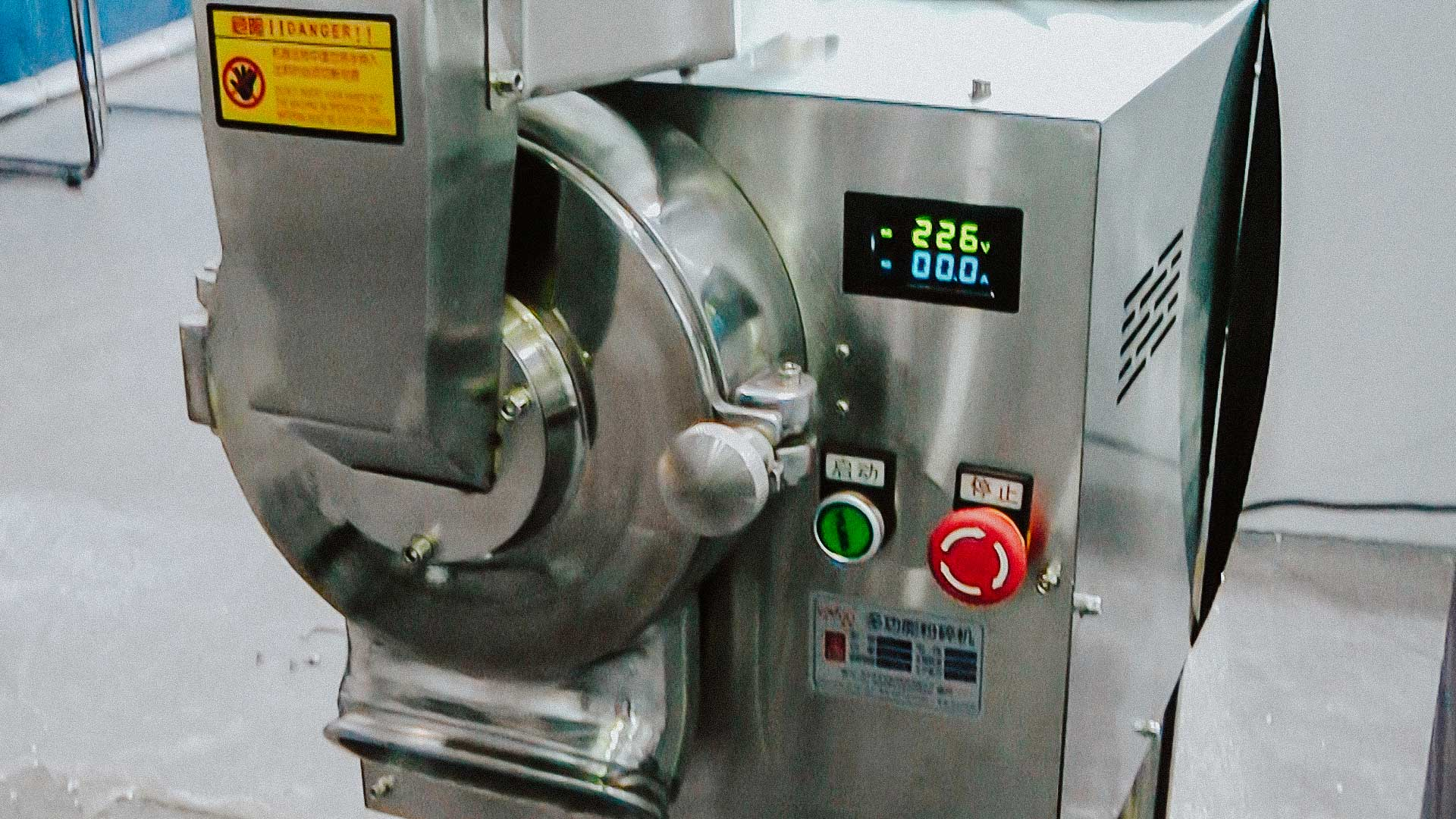 Food Grinder Food Pharmaceutical Drug Water Cooled Mill
