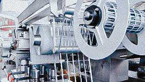 Automatic blister packaging machine for tablets and gelatin capsules in blisters EU