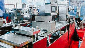 Automatic blistering machine for filling of tablets in blisters ALU / ALU