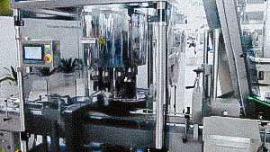 Automatic capping machine plastic caps with high speed for plastic bottles