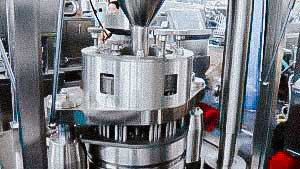 Automatic capsule filling equipment for solid gelatin capsules