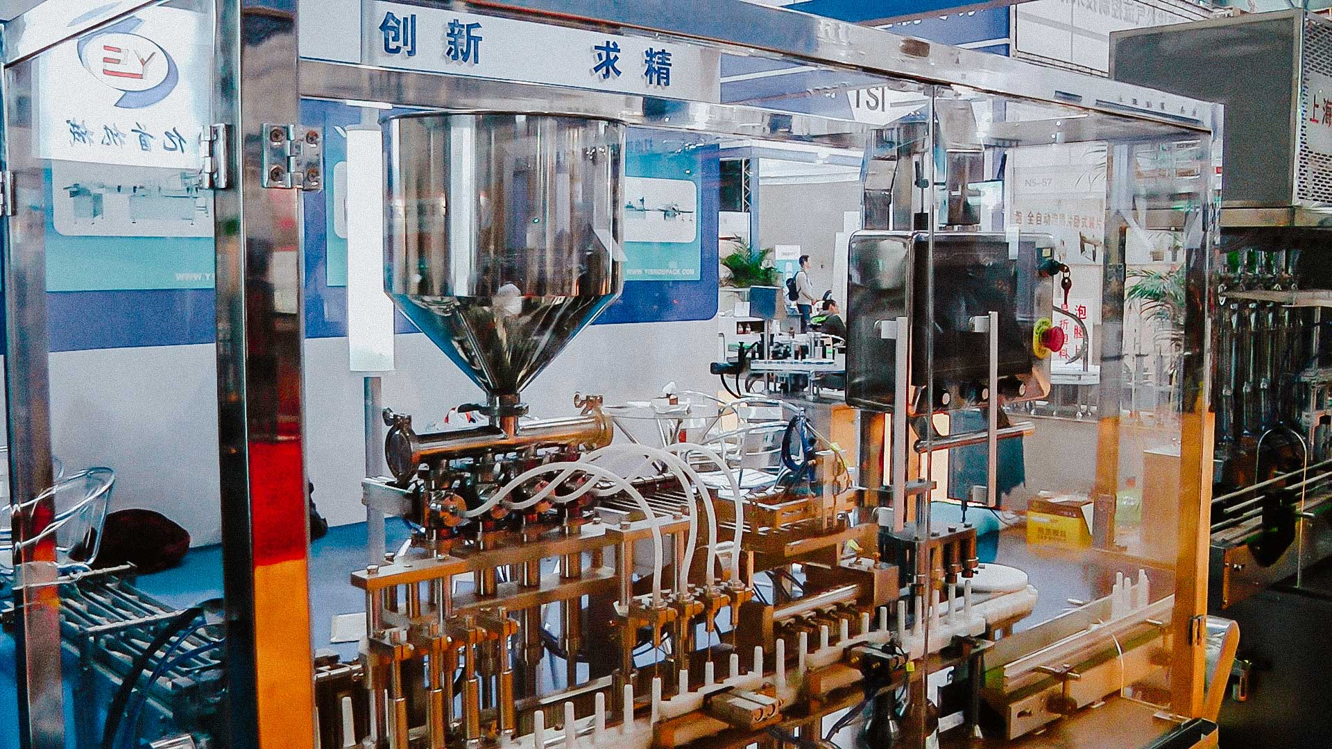 Automatic glass bottle filling and capping line machine for pharmaceutical production