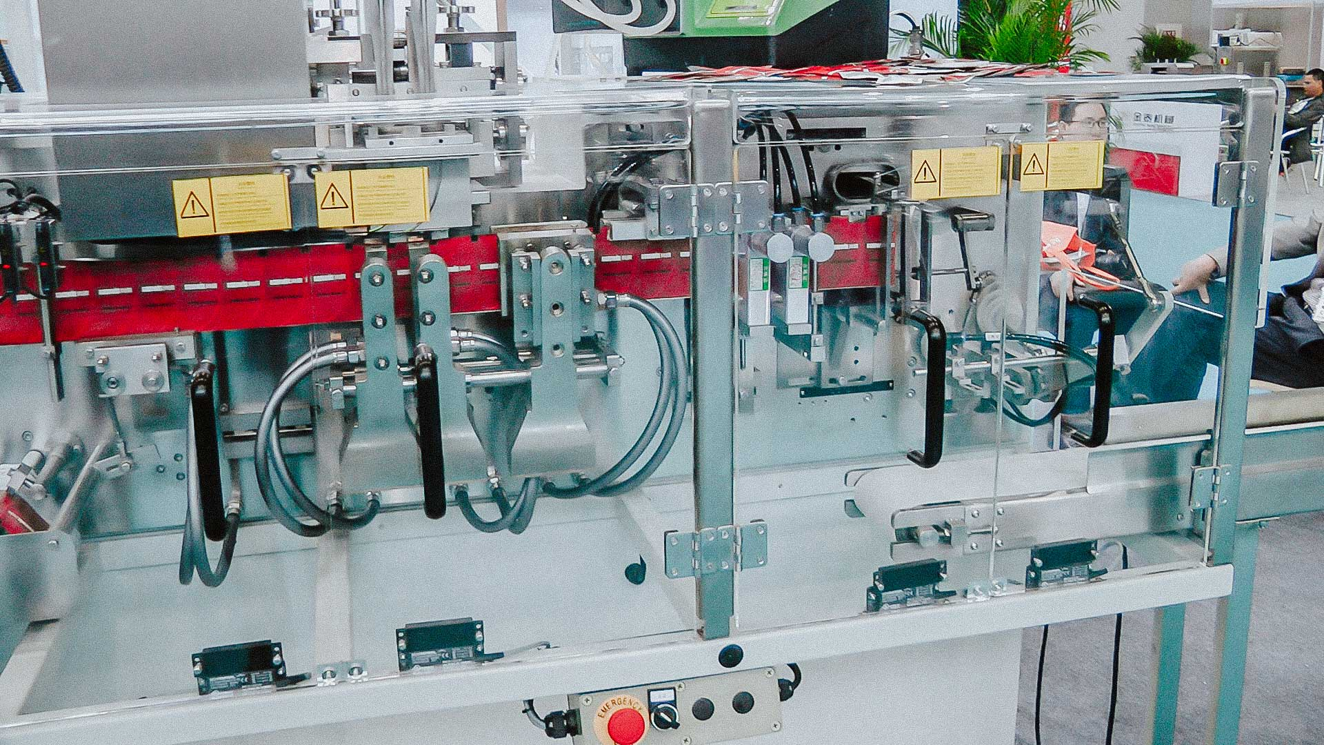 Automatic line for the production of wet wipes with alcohol individual package USA