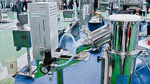 Automatic pharmaceutical equipment for checking the quality of gelatin capsules