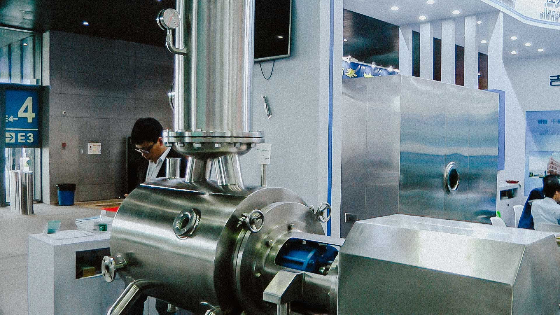 Equipment for pharmaceutical preparation of liquids for drug production
