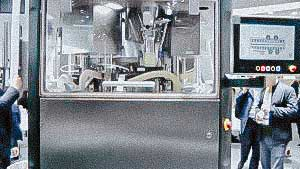 High quality rotary tablet press with dust collection system for tablets