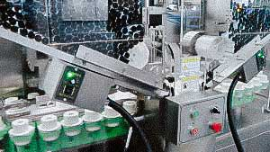 High speed automatic cream filling machine and ointment plastic tubes