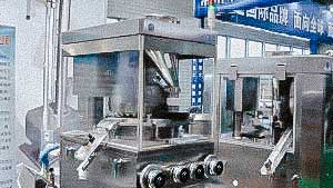 High speed automatic rotary tablet press for pharmaceutical tablet pressing
