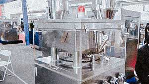 High speed automatic rotary tablet press for pharmaceutical tablet pressing USA