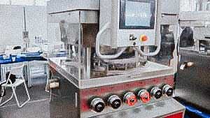 High speed automatic rotary tablet press for powder pressing
