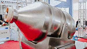 High speed mixer for cooking ready-made tablet mixture