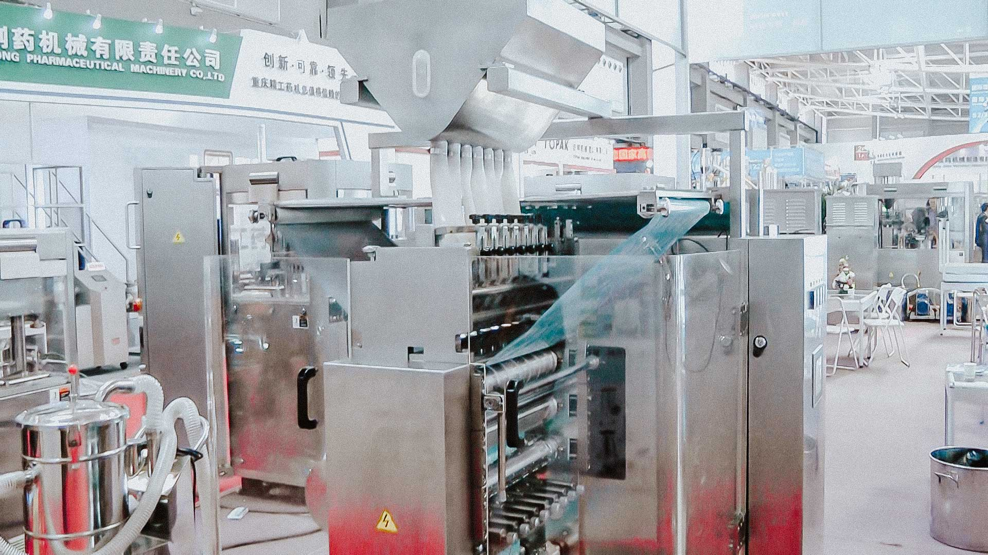 High speed packing powder and granules in sachets sachet automatic packaging machine