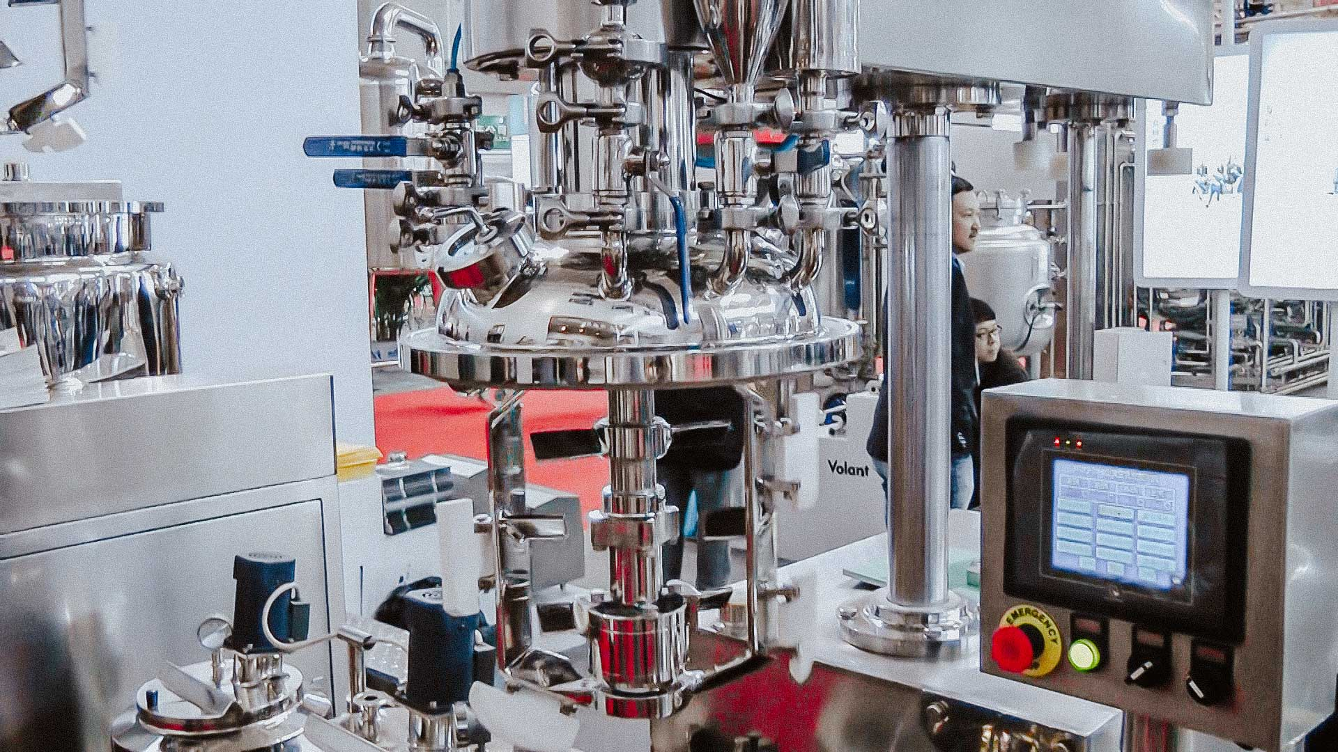Homogenizer to prepare a cream and ointment for cosmetics and pharmaceutical products
