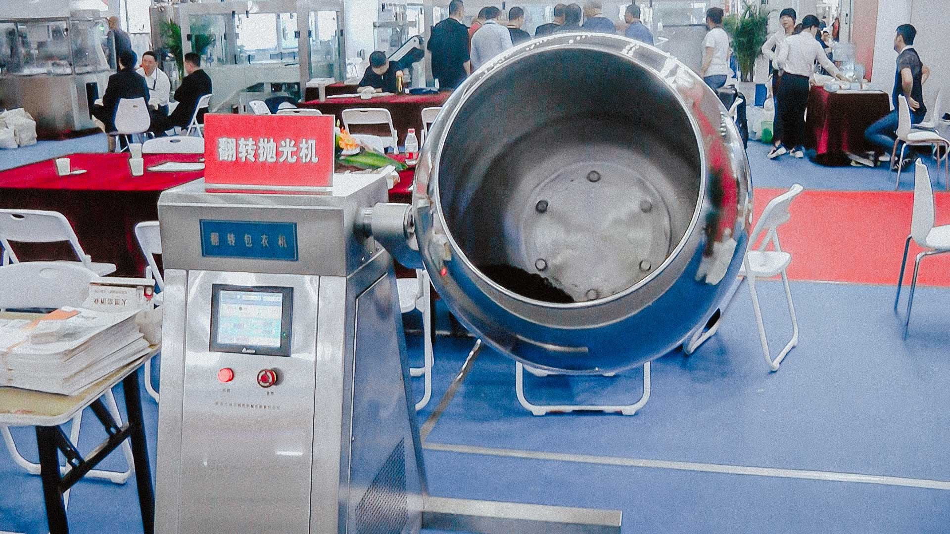 Laboratory Coater machine for tablet coating with protective and colored casing