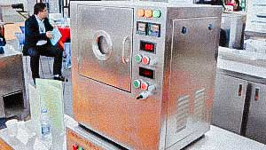 Microwave heating for mixing and obtaining herbal extracts