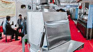Pharmaceutical vibratory sieve for sifting of powders with medicines