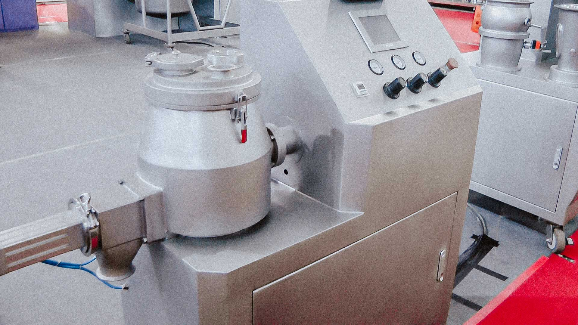 Powder granulator for preparation of granular medicines and food products