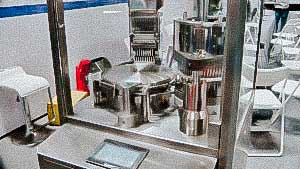 Hard gelatin capsules fill powder automatic drug making machine