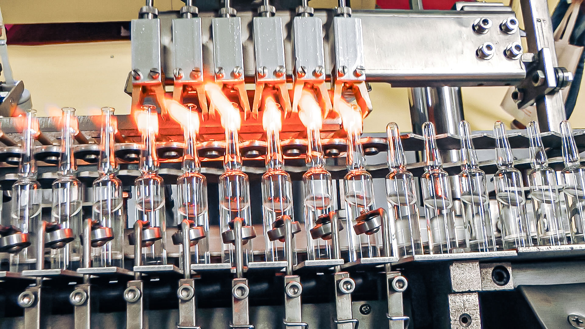 Automatic Glass Ampoule Bottling and Sealing Equipment