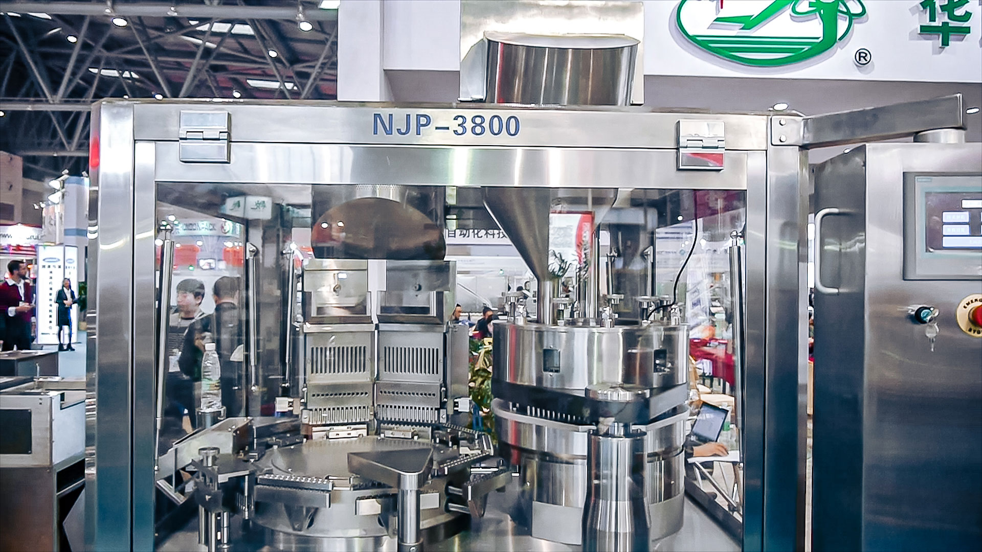 Automatic capsule equipment for hard gelatine capsules