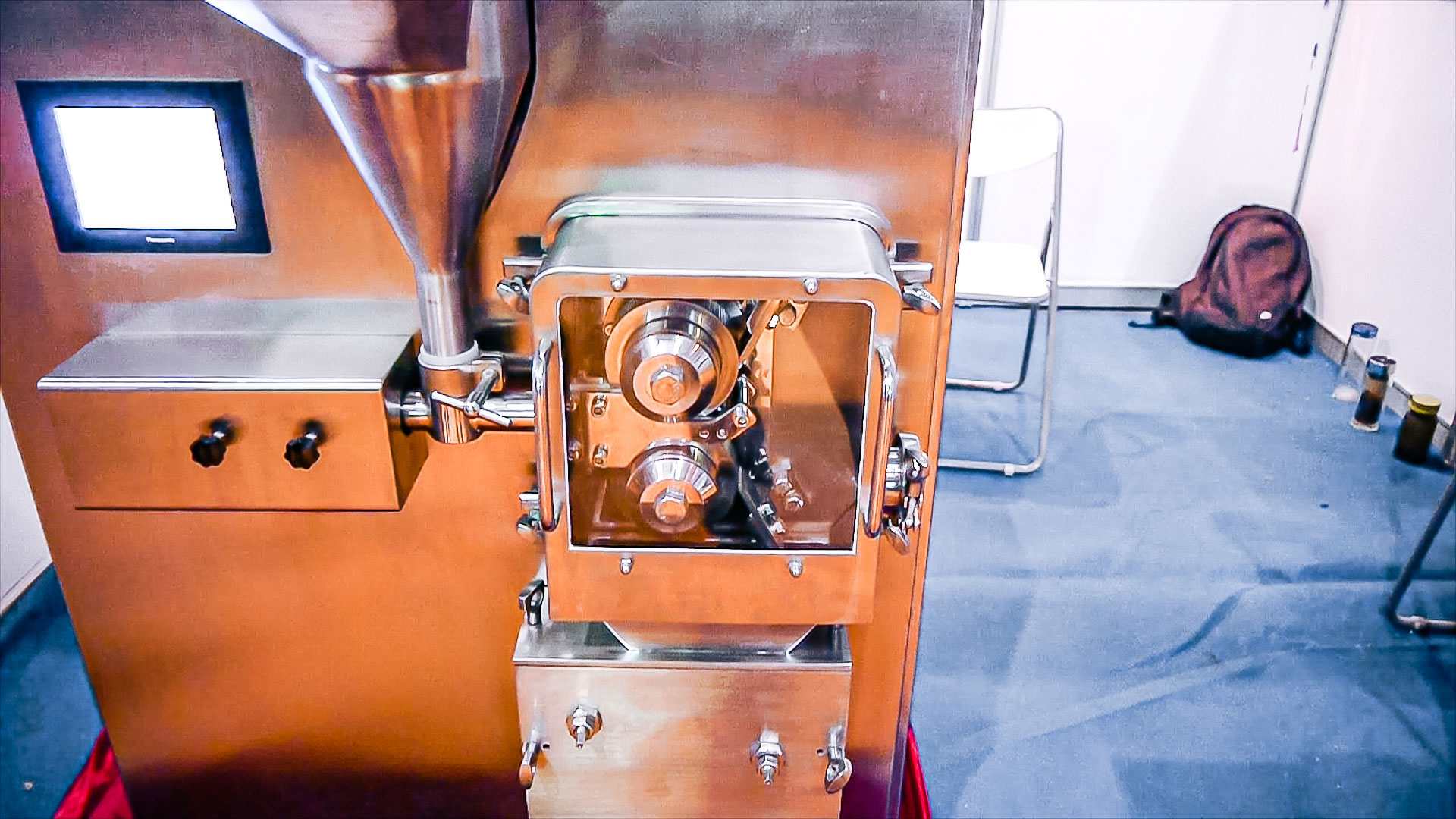 Automatic dry powder to granule pelletizing equipment