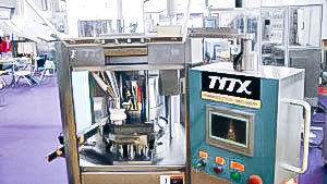 Automatic equipment for manufacturing high quality tablets in pharmaceutical production