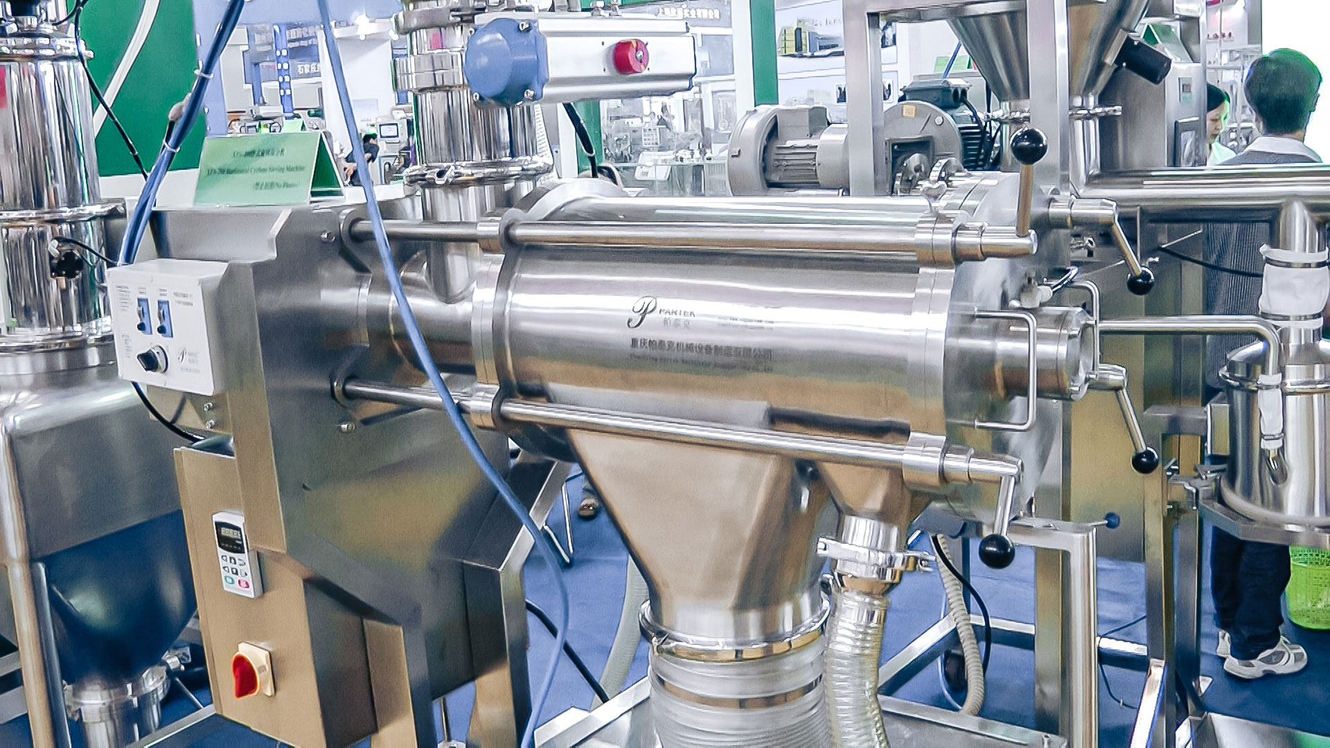 Automatic equipment for preparation and mixing of powders in pharmaceutical production Slovakia