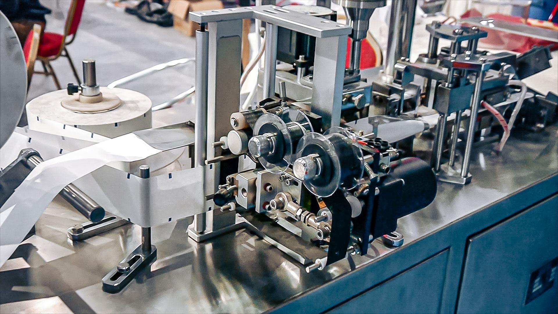 Automatic powder filling equipment in sachet sachets