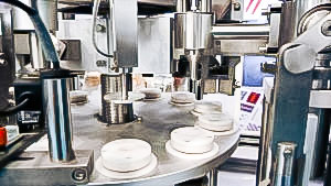 Pharmaceutical equipment for filling and sealing plastic tubes with cream and ointment USA