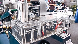 Automatic equipment Cardboard machine in pharmaceutical production Canada