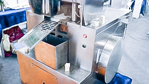 Automatic equipment for production and pressing of tablets in pharmaceutical production Netherland