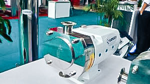 Automatic equipment for pumping liquids in pharmaceutical production Poland