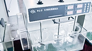 Automatic equipment for quality testing of tablets and capsules in pharmaceutical production Germany