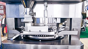 Automatic equipment for tablet pressing in pharmaceutical production USA