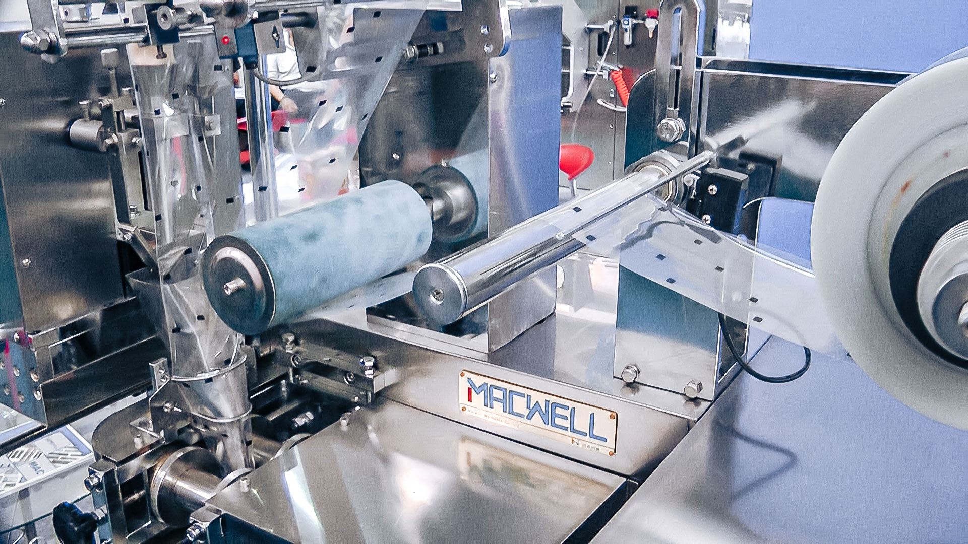 Automatic equipment packaging machine in pharmaceutical production