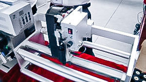 Automatic equipment printing the date of expiry and date on packaging in the pharmaceutical production