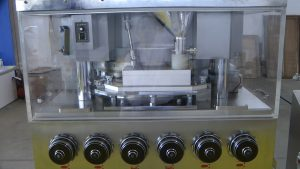 Automatic high speed tablet pressing equipment in pharmaceutical production