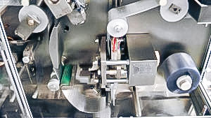 Automatic packaging equipment for PVC blister gelatin capsules in pharmaceutical production