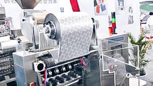 Automatic powder filling equipment in aluminium sticks in pharmaceutical production